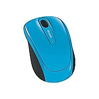 Microsoft Wireless Mobile Mouse 3500 - mouse - 2.4 GHz - cyan blue