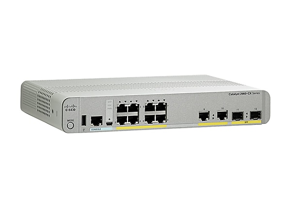 Cisco Catalyst 2960CX-8TC-L - switch - 8 ports - managed - rack-mountable