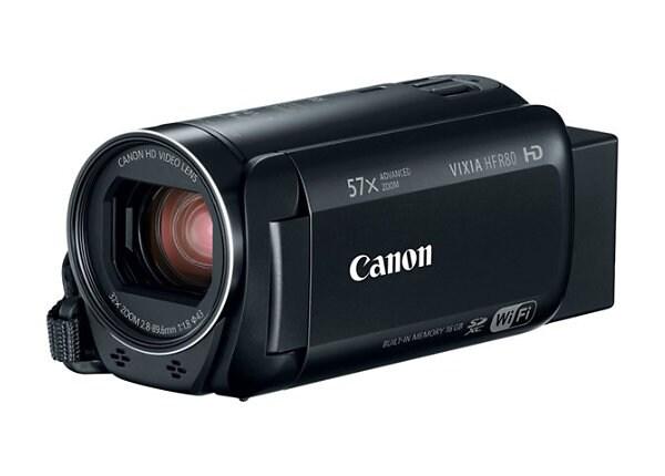 Canon VIXIA HF R80 - camcorder - storage: flash card