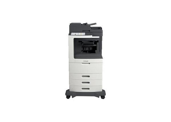 Lexmark MX810dtpe - multifunction printer - B/W