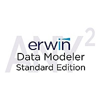 erwin Data Modeler Standard Edition (v. 9.7) - license + 1 Year Enterprise