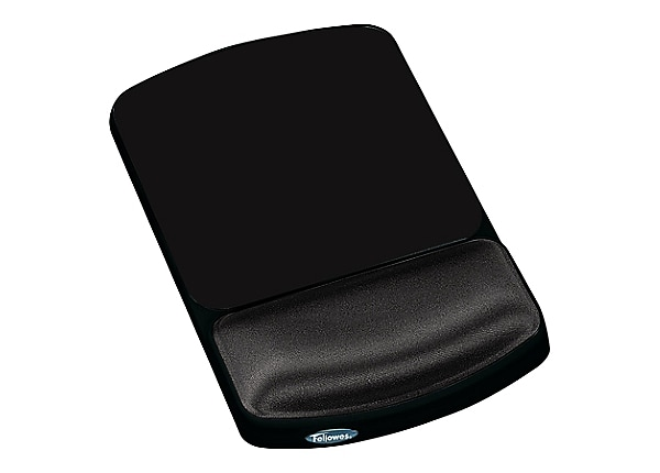 Fellowes Premium Gel Graphite - mouse pad with wrist pillow