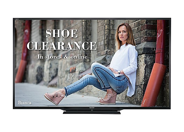 "Sharp PN-LE901 90"" Class (90.02"" viewable) LED TV"