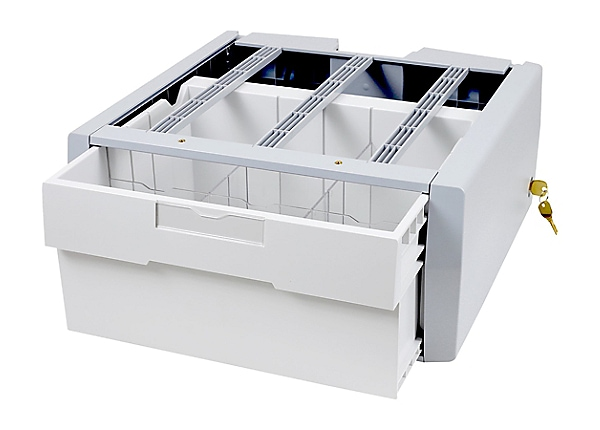 Ergotron StyleView Supplemental Storage Drawer, Single Tall - mounting comp