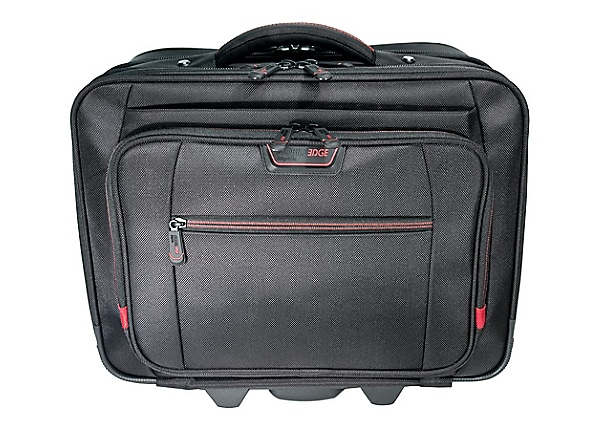 "Mobile Edge Professional Overnight Rolling 13"" to 17.3"" Laptop Case noteboo"