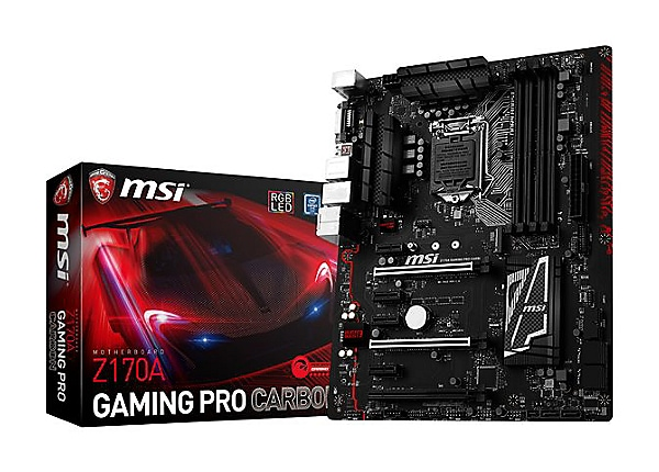 Msi Z270 Gaming Pro Carbon Hd Wallpaper: MSI Z170A GAMING PRO CARBON