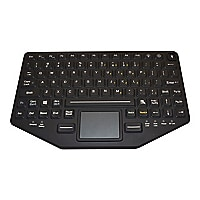 iKey BT-870-TP-SLIM - keyboard - with touchpad