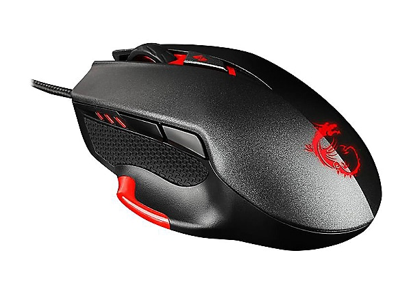 MSI INTERCEPTOR DS300 GAMING - mouse - USB - black