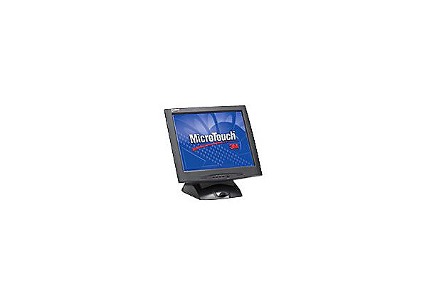 3M MicroTouch M1700SS Serial - LCD monitor - 17""
