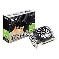MSI N730-4GD3V2 - graphics card - GF GT 730 - 4 GB