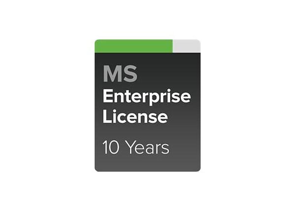 Cisco Meraki Enterprise - subscription license - 1 switch