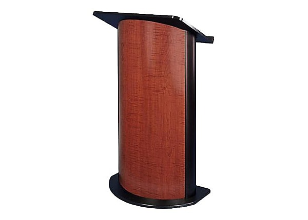 AmpliVox Curved Sippling Seattle Java - lectern