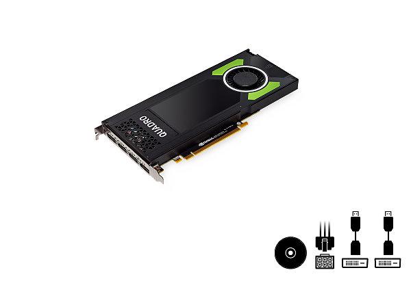 NVIDIA Quadro P4000 - graphics card - Quadro P4000 - 8 GB