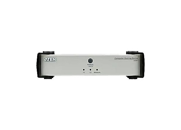 ATEN Computer Sharing Device CS261 - KVM / audio switch - 1 ports