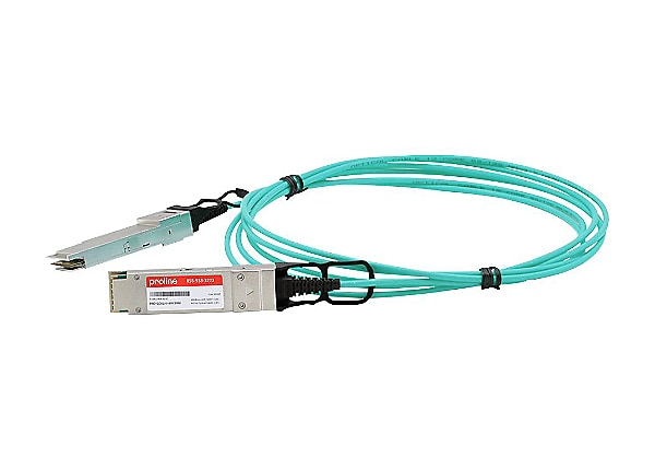 Proline 40GBase-AOC direct attach cable - 10 m - TAA Compliant