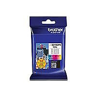 Brother LC30193PK XXL - 3-pack - Super High Yield - yellow, cyan, magenta -