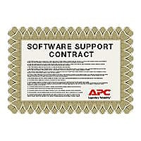 APC Extended Warranty Software Support Contract - technical support - for I