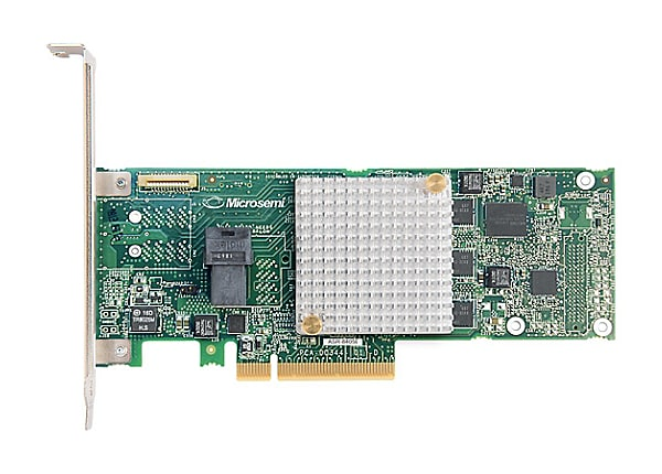 Microsemi Adaptec RAID 8405E - storage controller (RAID) - SAS 12Gb/s - PCI
