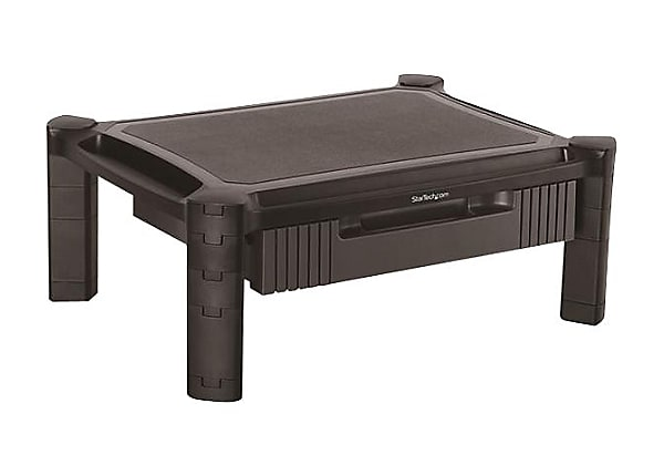StarTech.com Computer Monitor Riser Stand with Drawer - Height Adjustable