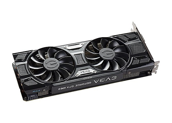 EVGA GeForce GTX 1060 FTW+ GAMING ACX 3.0 - graphics card - GF GTX 1060 - 3