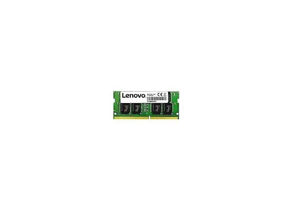 Lenovo - DDR4 - module - 16 GB - SO-DIMM 260-pin - 2400 MHz / PC4-19200 - u