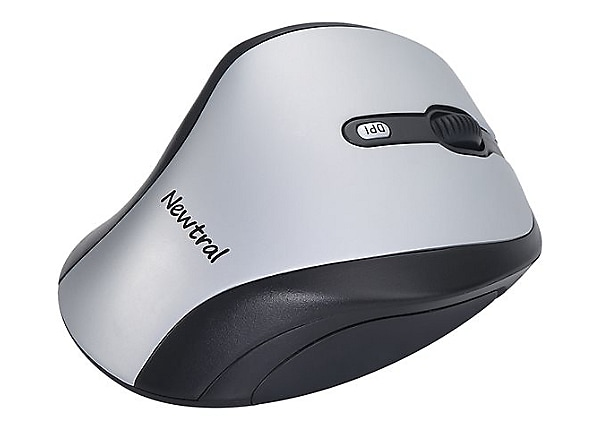 Newtral 2 Large - mouse - 2.4 GHz - silver/black