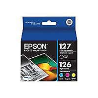 Epson 127/126 Combo-Pack - 4-pack - Extra High Capacity - black, yellow, cy