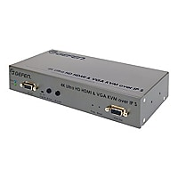 Gefen 4K Ultra HD HDMI and VGA KVM over IP Sender Unit - video/audio/infrar
