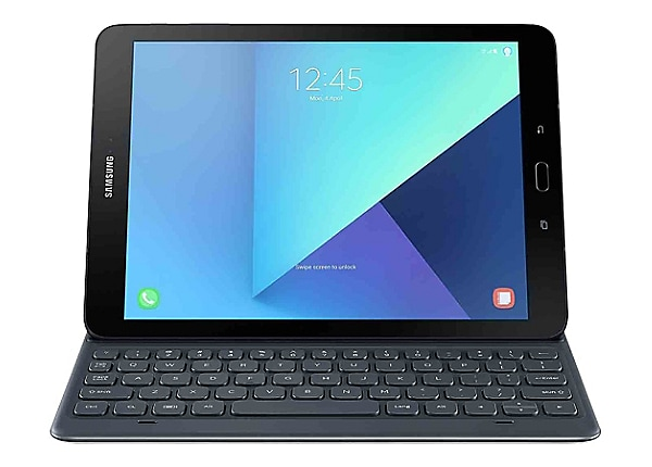 Samsung Keyboard Cover EJ-FT820 - keyboard and folio case - gray