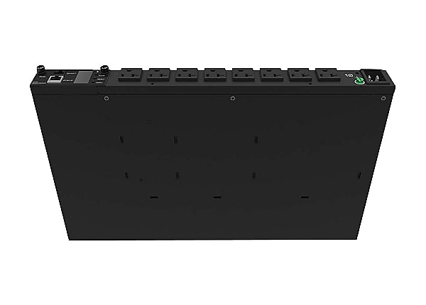 HPE G2 Metered Horizontal True 0U - power distribution unit - 1900 VA