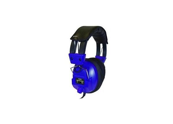 Avid AE808 Headphones Volume Control - Blue