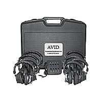 AVID 8LC63M Monaural Listening Center - headphones