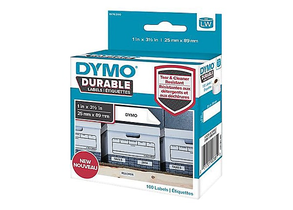 DYMO LabelWriter DURABLE - labels - 100 label(s) -