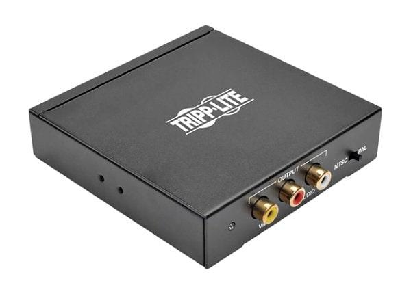 Tripp Lite HDMI to RCA Composite Video w Audio Converter F/3x RCA-F Video
