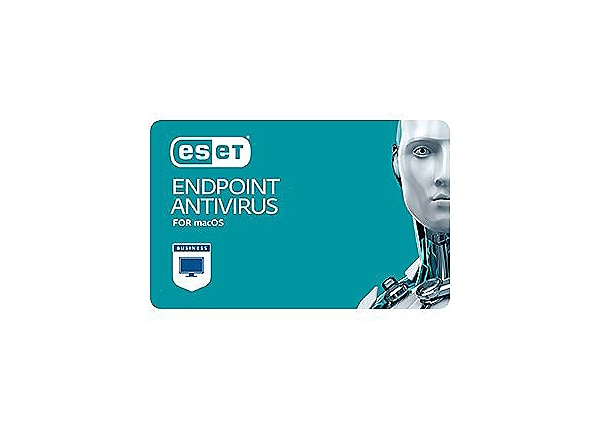 ESET Endpoint Antivirus for Mac OS X - subscription license (1 year) - 1 se