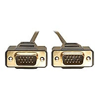 Tripp Lite 6' VGA Monitor Gold Cable Molded Shielded HD15 M/M 6ft
