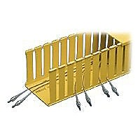 Panduit Fiber-Duct Slotted Wall Channel - cable tray sections