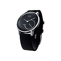 Withings Activité Steel - steel - activity tracker with strap black