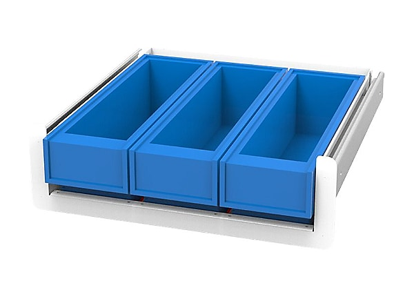 JACO 3 Med-Bin, JACO SL Drawer System - mounting component
