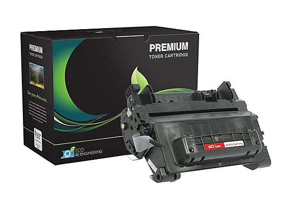 MSE - black - MICR toner cartridge (alternative for: HP 64A)
