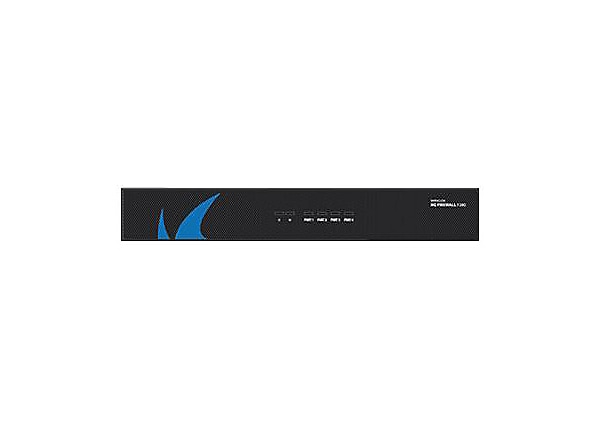 Barracuda CloudGen Firewall F-Series F280 - security appliance - with 5 years Energize Updates + Instant Replacement + Premium Support