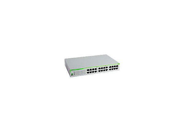 Allied Telesis CentreCOM AT-GS910/24 - switch - 24 ports - unmanaged