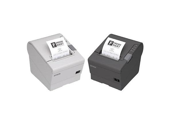 Epson TM-T88VI Thermal Receipt Printer Black