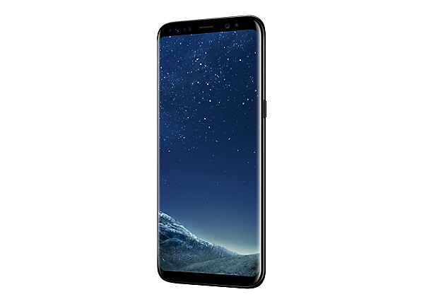Samsung Galaxy S8 - midnight black - 4G - 64 GB - CDMA / GSM - smartphone
