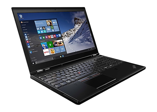 "Lenovo ThinkPad P51 - 15.6"" - Core i7 7700HQ - 8 GB RAM - 512 GB SSD"
