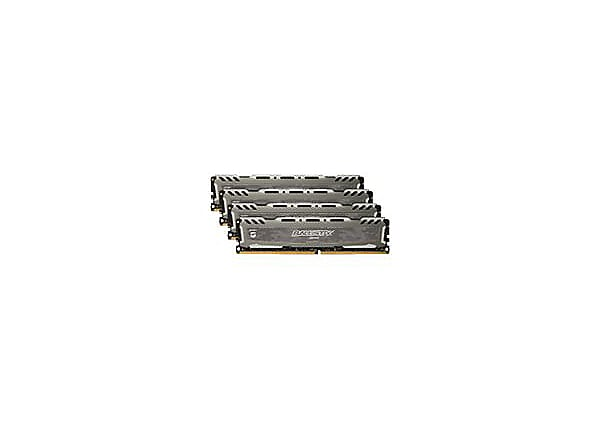Ballistix Sport LT - DDR4 - 64 GB: 4 x 16 GB - DIMM 288-pin - unbuffered