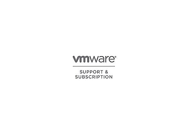 VMware Support and Subscription Basic - technical support (renewal) - for V