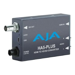AJA HA5-Plus HDMI to 3G-SDI/HD-SDI/SDI video and audio converter