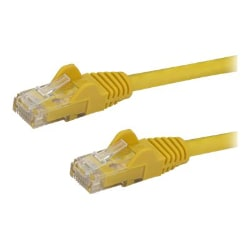 StarTech.com 2 ft Yellow Cat6 / Cat 6 Snagless Ethernet Patch Cable 2ft
