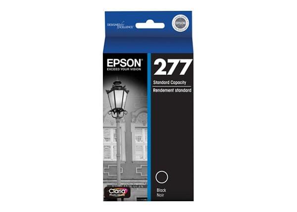 Epson 277 With Sensor - dye-based black - original - ink cartridge